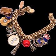 12kt Gold Filled Charm Bracelet
