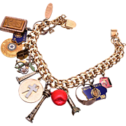 12kt Gold Filled Charm Bracelet