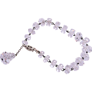 Beautiful Faceted Crystal Bracelet