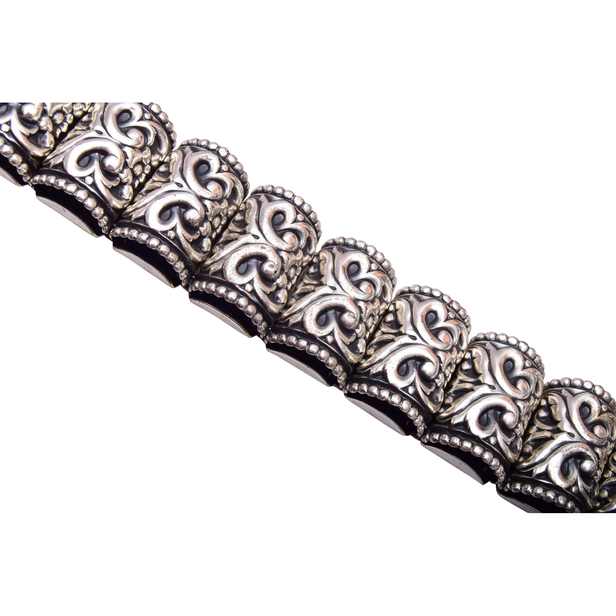 Wonderful Napier Silver Tone Bracelet