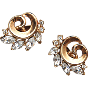 Pre 1955 Trifari Patent Pending Earrings