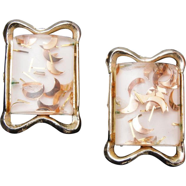 PAM Confetti Lucite Earrings