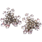Sandor Brilliant Rhinestone Earrings