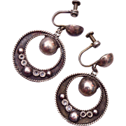 Silver Mexico Earrings