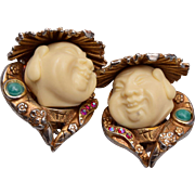 HAR 1960 Smiling Buddha Earrings
