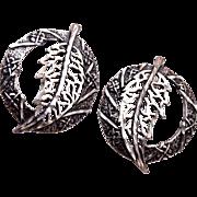 STC Sterling Pierced Earrings