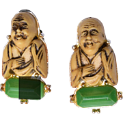 Florenza Buddha Earrings