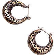 Brighton Pierced Hoop Earrings