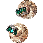 Boucher Green Jelly Earrings