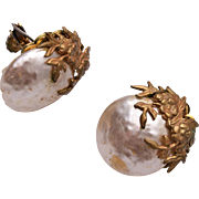 Miriam Haskell Pearl Earrings