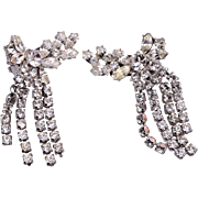 Charel Dangling Rhinestone Earrings