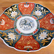 Japanese Imari Lotus Shaped Dish – Meiji Period, circa 1870