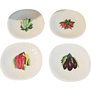 Vintage Italy Majolica Plates - Set of 4