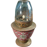 Rare Vintage Chinese Oil Lamp