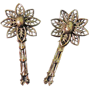 Antique Pair Edwardian Brooches