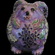 Cloisonne Figural Rabbit