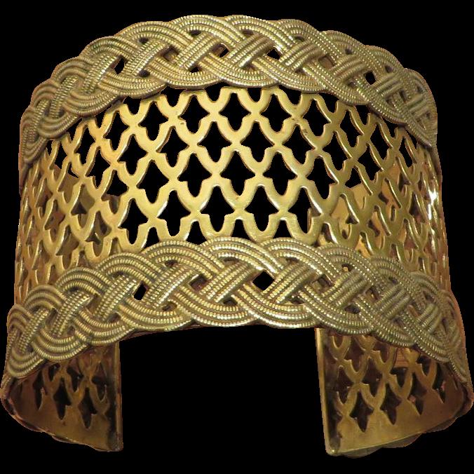 Sandor Brass Cuff Bracelet