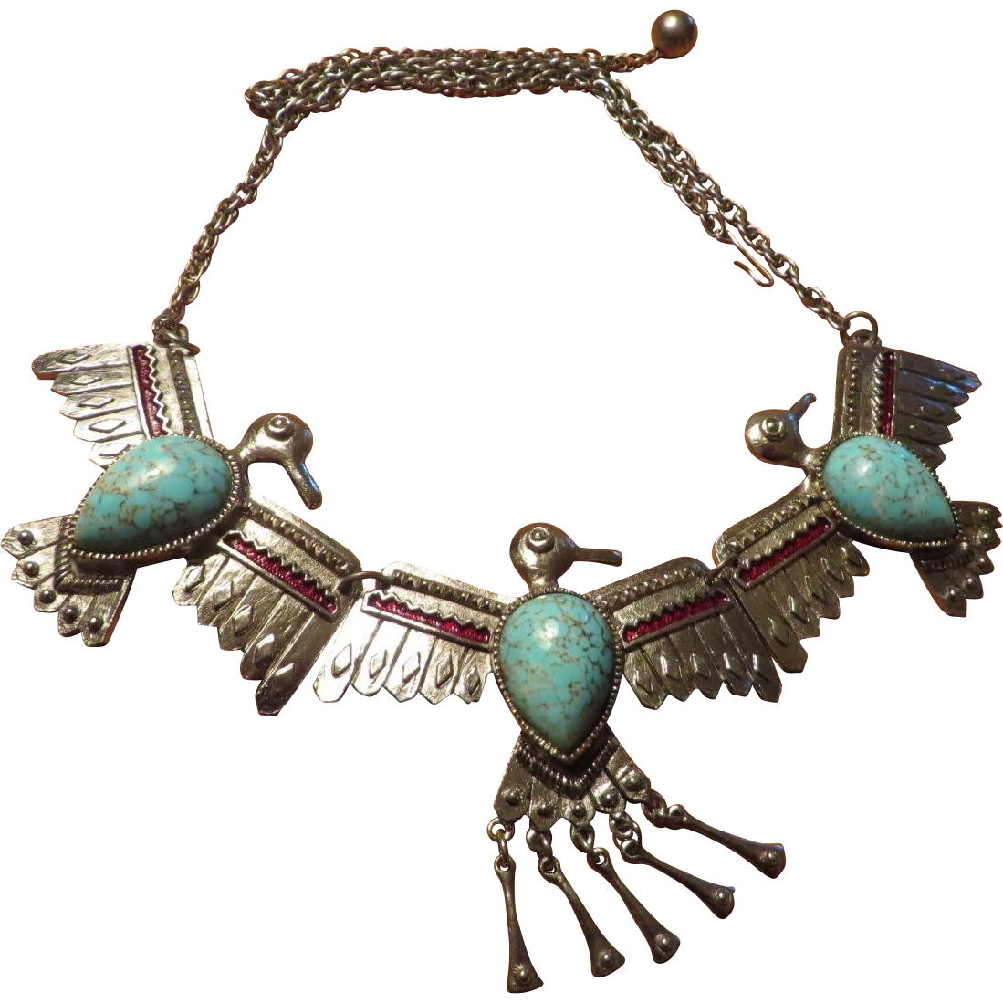 Richelieu Thunderbird Figural Necklace