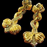 Gorgeous Henkel Grosse Pierced Earrings
