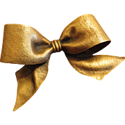 Huge Joseff Of Hollywood Bow Brooch