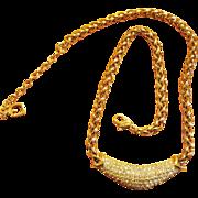 Henkel Grosse Crystal Necklace