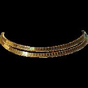 Jean Louis Scherrer Paris Double Strand Necklace