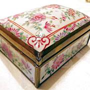 Samson Style Chinese Export Porcelain Box