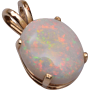14kt Gold and Opal Pendant