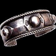 Heavy Sterling Cuff Bracelet