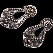 Beautiful Silver Dangle Earrings