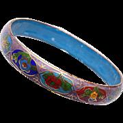 Cloisonné Colorful Enameled Bangle Bracelet