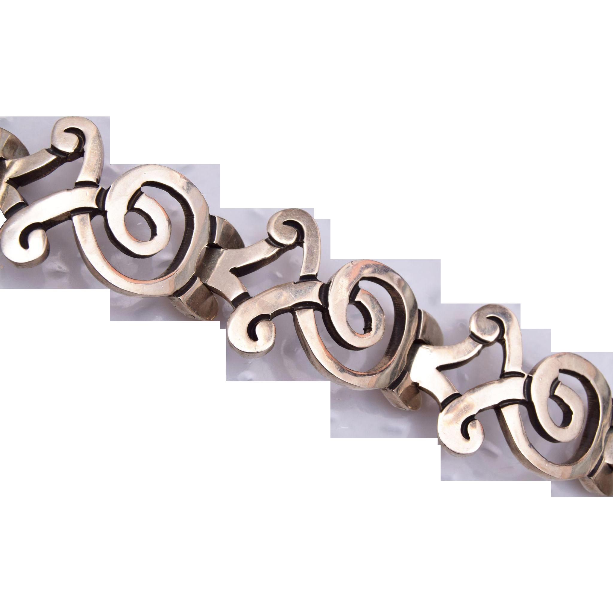 Sterling JS Bracelet
