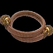Etruscan Mesh Bracelet