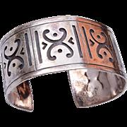 Bernice Goodspeed Cuff Sterling Bracelet
