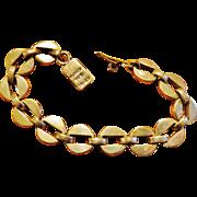 Vintage Taxco Silver Link Bracelet