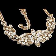 Coro With Pegasus Rhinestone Necklace