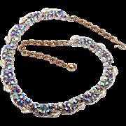 BSK AB Rhinestone Necklace
