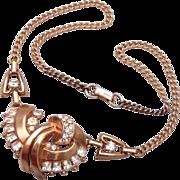 Lisner Rhinestone Necklace