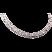 Ora Art Deco Rhinestone Necklace