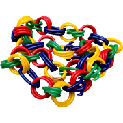 Colorful Plastic Necklace