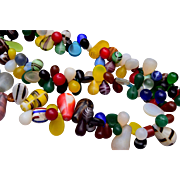 Fabulous Colorful Glass Necklace