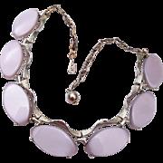Light Purple Thermoset Necklace