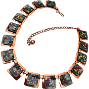 Matisse Colorful Enamel Necklace