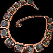 Matisse Colorful Enamel Necklace