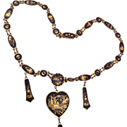 Oriental Damascene Necklace
