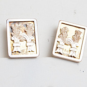 Beautiful Old Gold Filled Cuff Links - Wonderful Condition