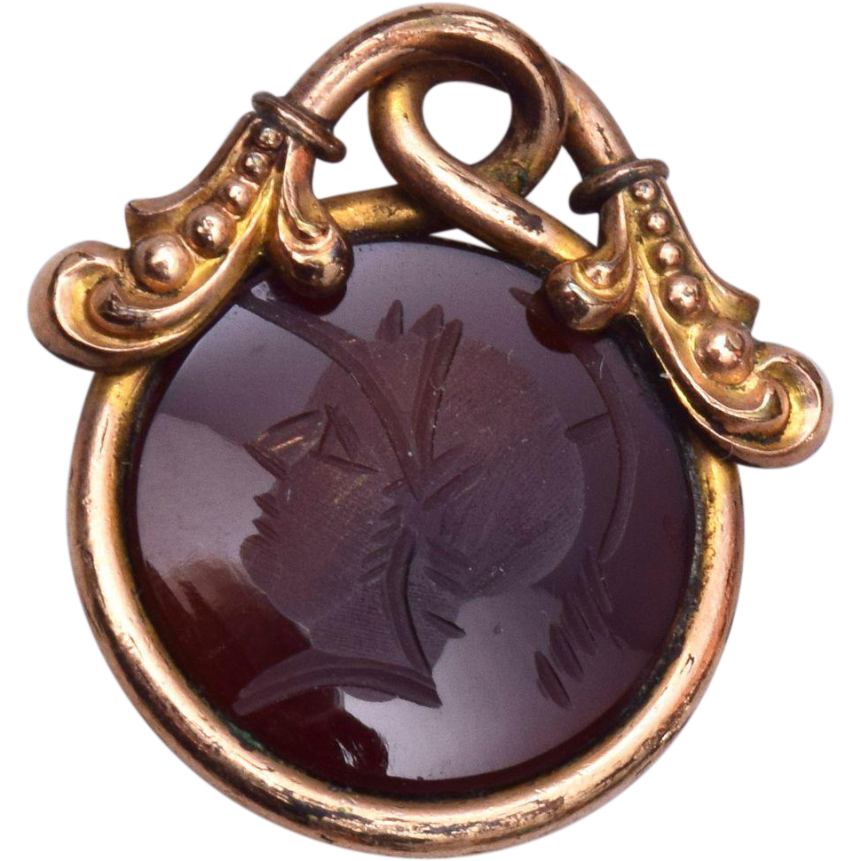 Intaglio Watch Fob or Charm