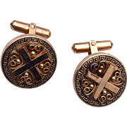 1951 Destino Gold Filled Cufflinks