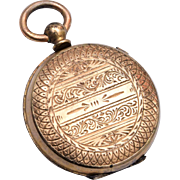 Beautiful 2 Sided Gold Filled Locket