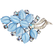 Jomaz Blue Fruit Salad Brooch